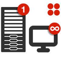 Retrospect Single Server Unlimited v.11 for Windows + Open File, Dissimilar Hardware & VM Ware Agent with ASM - v11